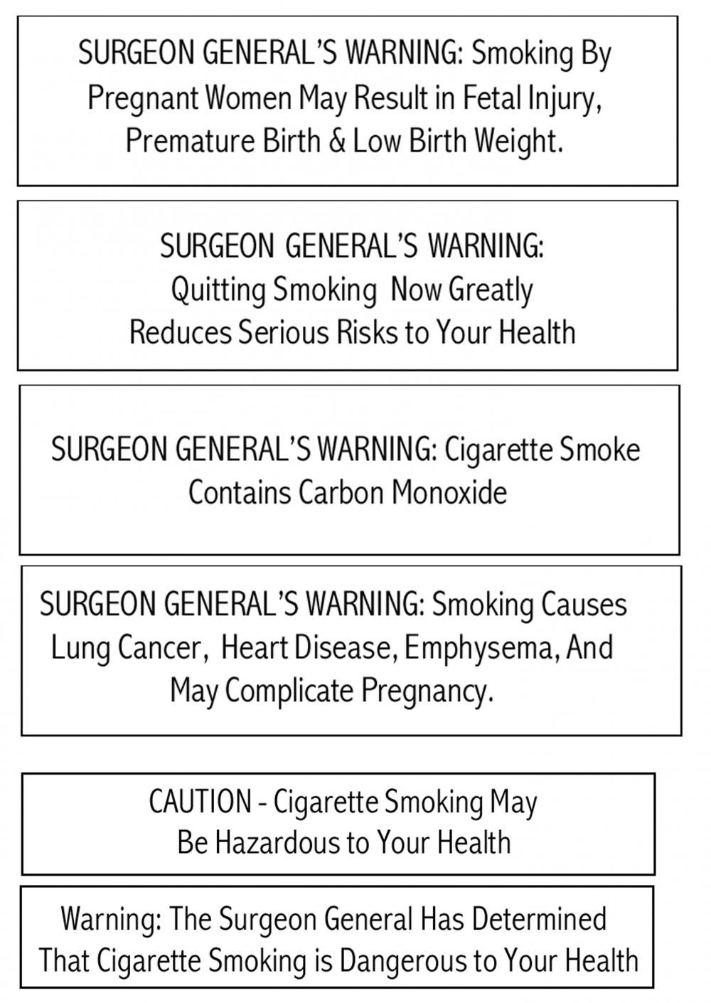 do cigarette warning labels work Graphic cigarette health warning labels from  the evidence for implementing pos health warnings despite decades of work in educating the public about the.