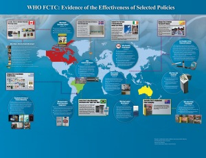 The World Health Organizations Framework Convention on Tobacco Control - First Policies and Evidence